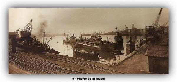 9 Puerto de el Musel marco