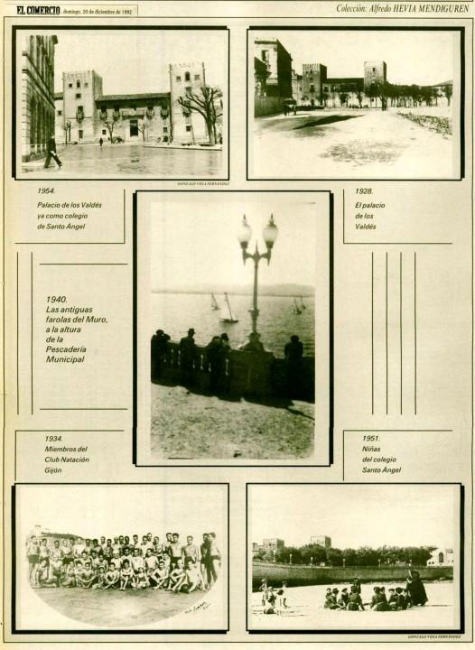 Gijón Recuerdos de tu playa. 20-12-1992
