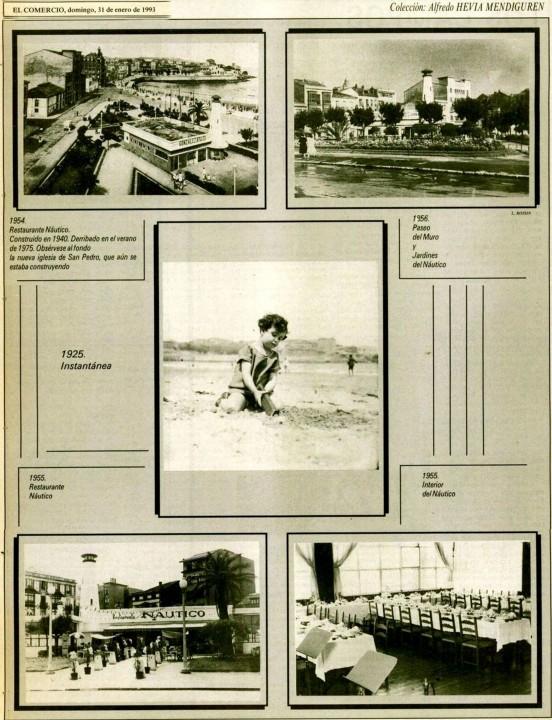 Gijón  Recuerdos de tu playa. 31-01-1993