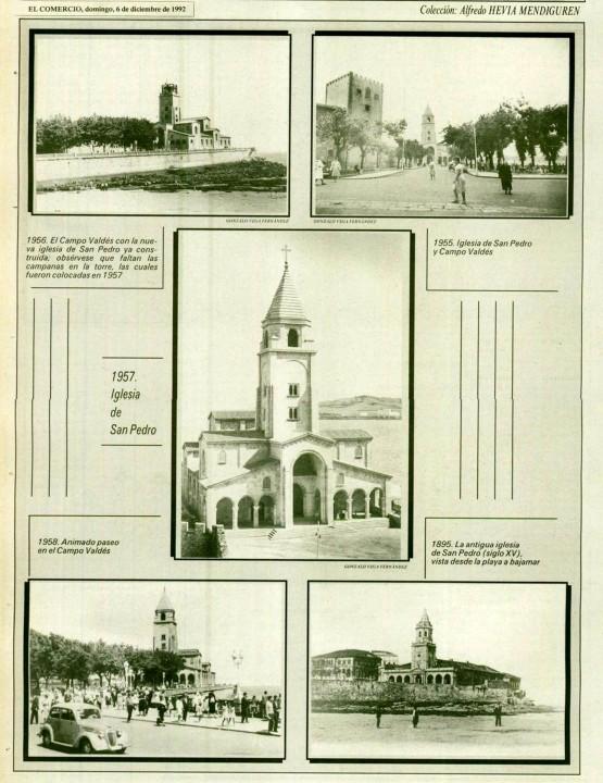Gijón Recuerdos de tu playa. 6-12-1992