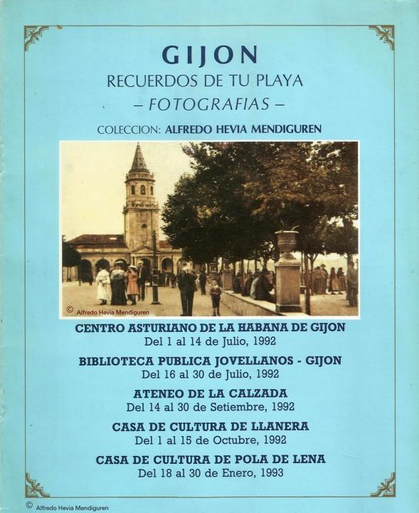 Gijón recuerdos de tu playa fechas exposición
