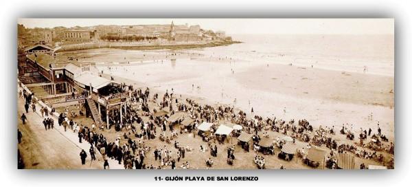 11 Gijón -Playa de san Lorenzo.marco