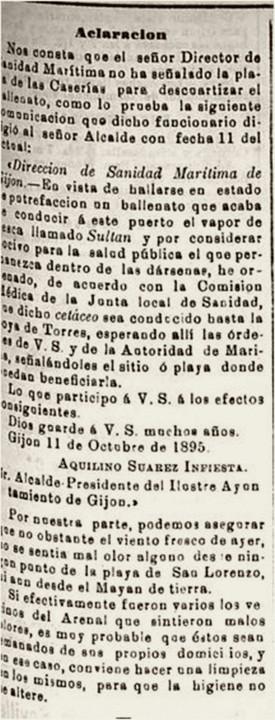 Ballena El comercio 18-10-1895