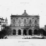 Gijón en la obra- Asturias : su historia y monumentos- bellezas y recuerdos costumbres y tradiciones- el bable, asturianos ilustres, agricultura e industria- estadística