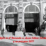 felices fiestas y próspero 2019