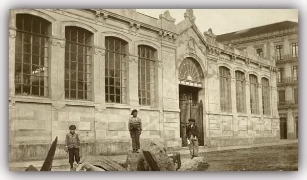 Mercado del Sur hacia 1900.marco