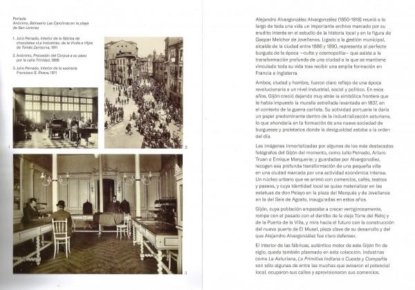 Folleto exposición Gijón la ciudad industrial burguesa 2