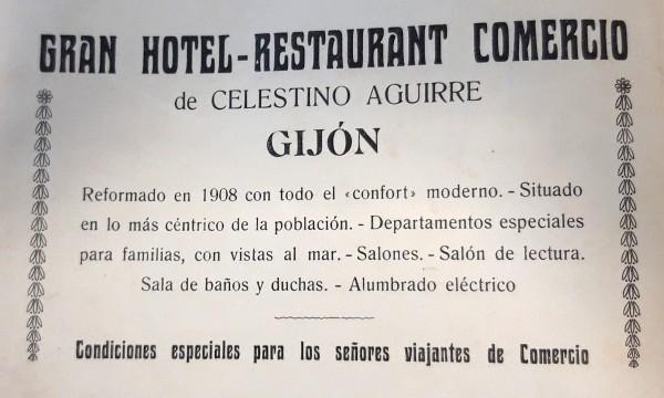 Hotel Comercio.publicidad