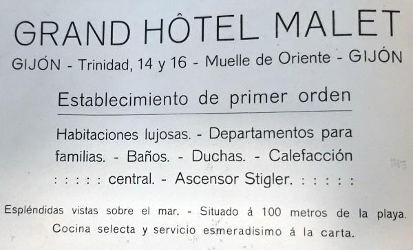 Hotel Malet.publicidad