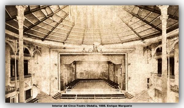 Interior de los campos eliseos.1888 Marquerie. marco