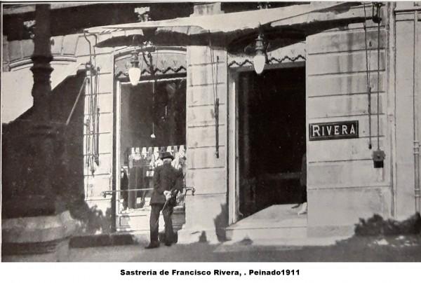 Sastrería de Francisco Rivera, 1911. Peinado. 2