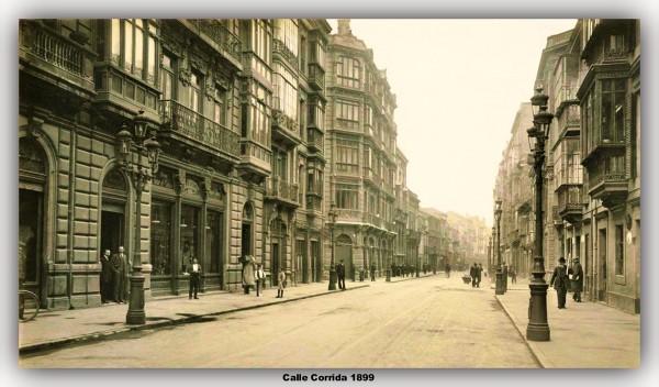 calle corrida 1899.marco
