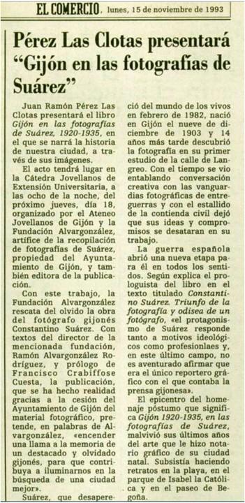 15-11-1993 libro Suárez