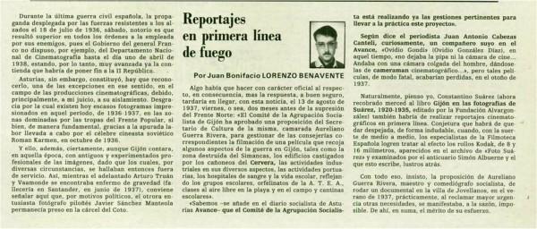 18-12-1993 Reportajes en primera linea de fuego