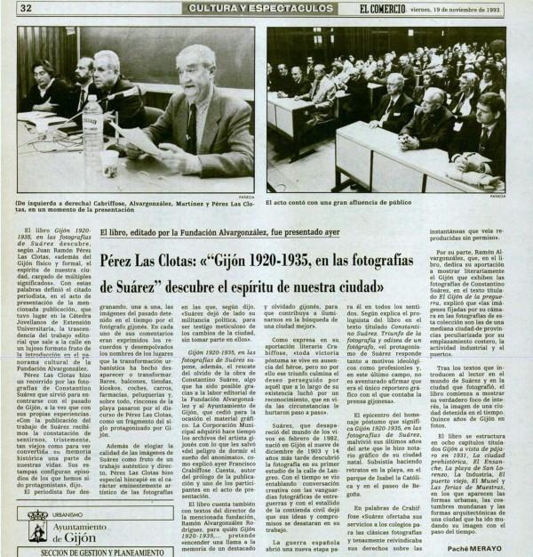 19-11-1993  Presentación libro suarez