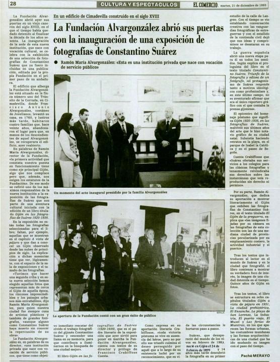 21-12- 1993  Exposicion Constantino Suárez