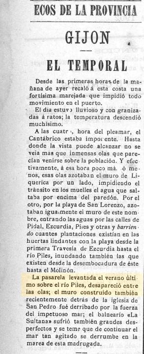 El progreso de Asturias  Año II Número 251 - 1902 enero 26