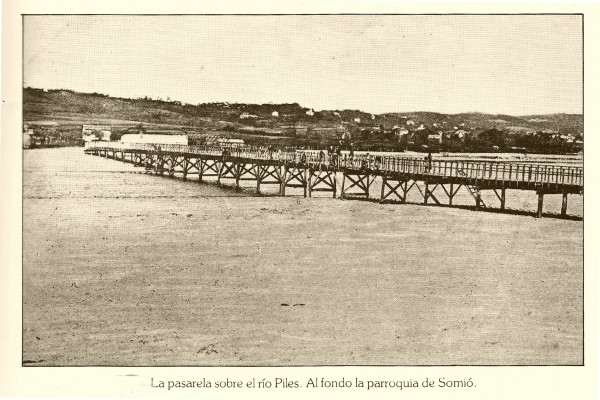 Pasarela piles- 1880-1920