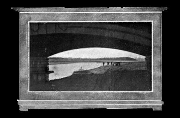 Puente del piles .Gijón Veraniego 1915.2