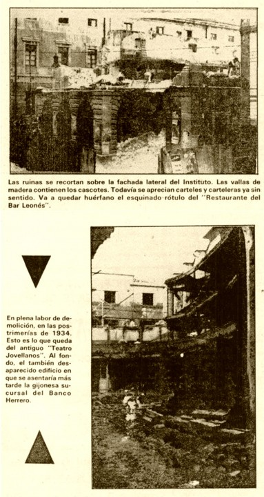 Derribo Jovellanos hemeroteca 19-9-1982