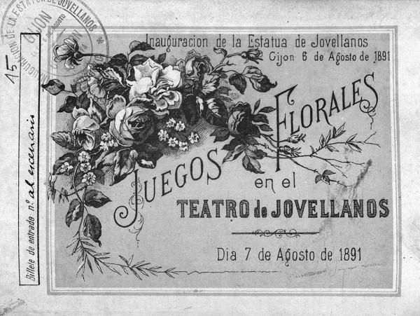 Juegos florales teatro 1891