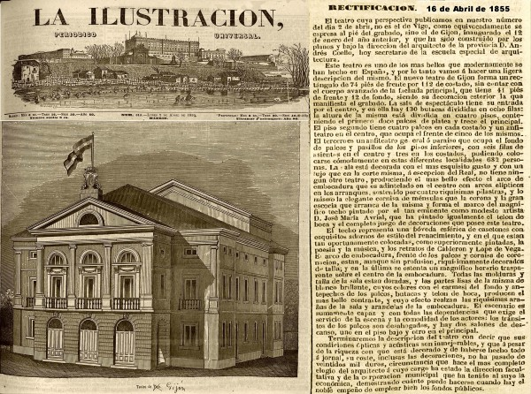 La ilustración  periódico universal-Tomo VII Número 318 - 1855 abril 2