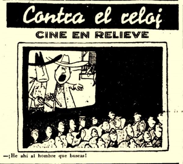 cine 3d.chiste. 2 de Agosto de 1953