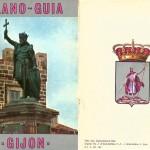 Plano - Guia de Gijón. Año 1967.