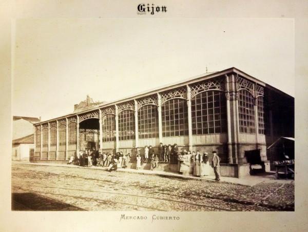 Album Bellmunt Mercado cubierto1894
