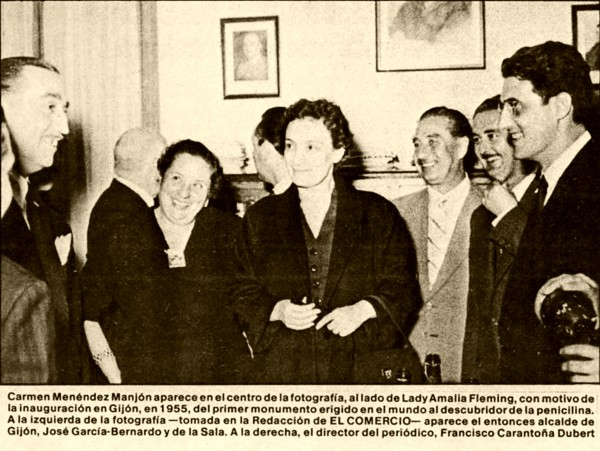 Carmen Manjón y Lady Fleming