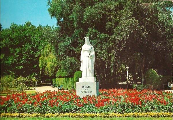 Parque Isabel La Cayolica alredor de 1970