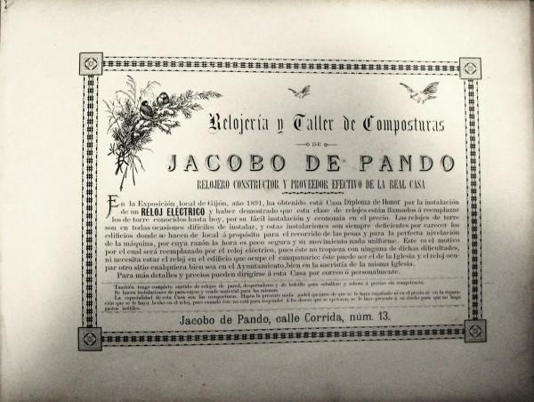 Relojeria Jacobo de Pando