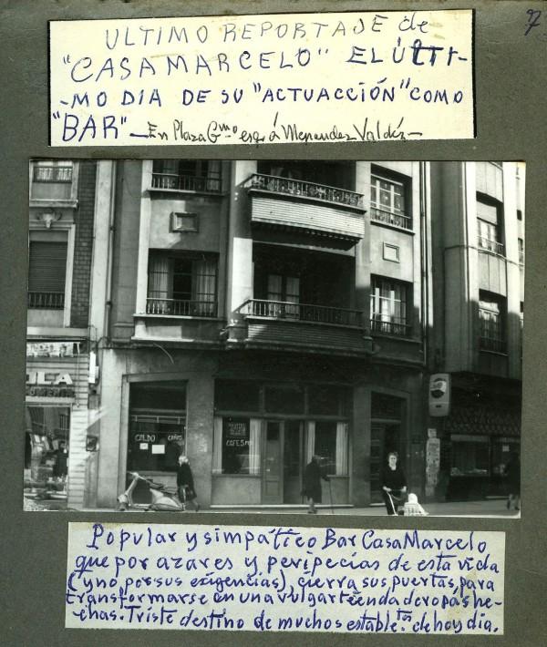 ültimo día Casa Marcelo. Del Campo.