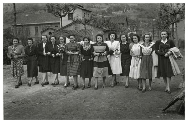 1948 por el fotógrafo Valentín Vega  cuenca del Nalón