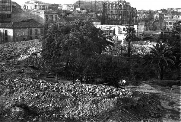 6282.Solar resultante de la demolición del Hospital de Caridad 26 y 27-1-1937.