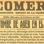 La Catástrofe del Musel, 25 de Febrero de 1913.