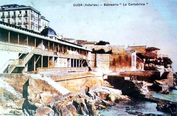 Gijón balneario La Cantábrica