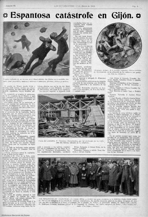 Las ocurrencias 7 -03-1913