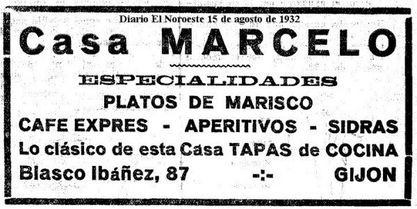 El Noroeste casa Marcelo 15-08-1932