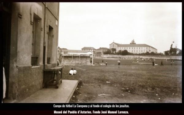 Campo de futbol La Campona